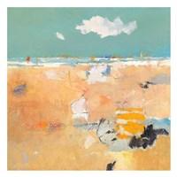 Beach with Sails Fine Art Print