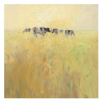 Cows in Spring Fine Art Print