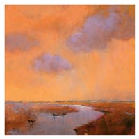 Evening Sky Fine Art Print
