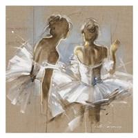 White Dress II Framed Print