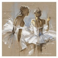 White Dress II Fine Art Print
