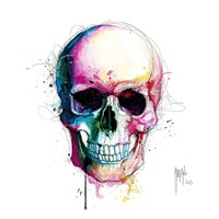 Angel's Skull Fine Art Print