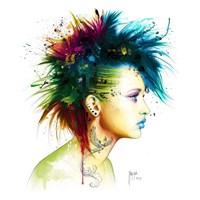 Fashion Punk Fine Art Print