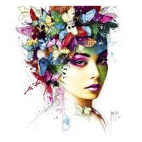 L'Effet Papillon Framed Print