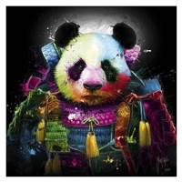 Panda Samourai Fine Art Print