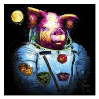 Pig in Space Fine Art Print