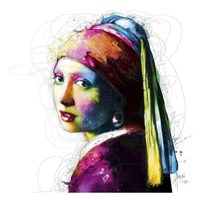 Vermeer Pop Fine Art Print