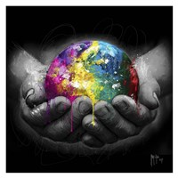 We Are the World Fine Art Print