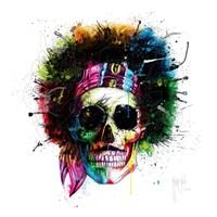 Woodstock Skull Fine Art Print