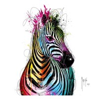 Zebra Pop Fine Art Print