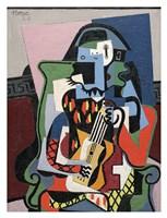 Harlequin Musician, 1924 (Arlequin Musicien) Fine Art Print
