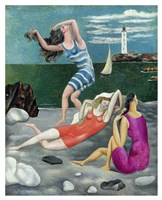 The Bathers, 1918 (Las Banistas) Fine Art Print