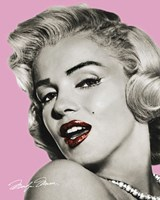 Marilyn Monroe - Lips Fine Art Print