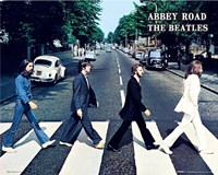 The Beatles Abbey Road Fine Art Print