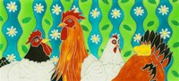 Chickens Fine Art Print