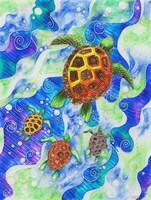 Sea Turtles Fine Art Print