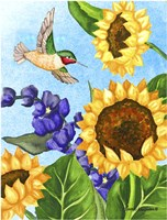 Hummingbird Heaven Fine Art Print