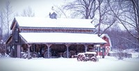 Cozy and Warm Blanket of Snow Fine Art Print