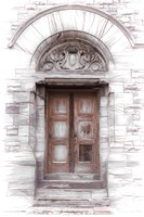 Entry Into Yesteryear Fine Art Print