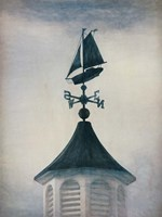 Windward Ho Weather Vane Fine Art Print