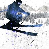 Extreme Skier 01 Fine Art Print