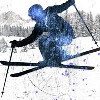Extreme Skier 03 Fine Art Print