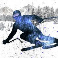 Extreme Skier 06 Fine Art Print