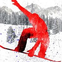Extreme Snowboarder 04 Fine Art Print