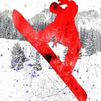 Extreme Snowboarder 05 Fine Art Print