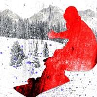 Extreme Snowboarder 06 Fine Art Print