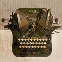 Typewriter 01 Oliver Fine Art Print