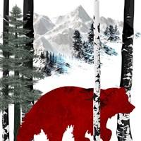 Winter Bear Fine Art Print