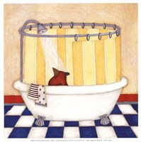 Shower Time Fine Art Print