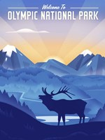 Olympic National Park Fine Art Print