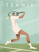 Vintage Tennis Fine Art Print