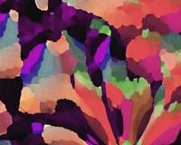 Living Coral Floral Fine Art Print