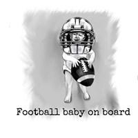 Football Baby 1 Fine Art Print