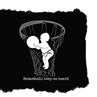 Basketball Baby Fine Art Print