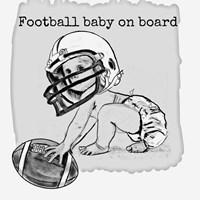 Football Baby 3 Fine Art Print