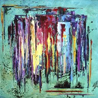 Abstract Rain Fine Art Print