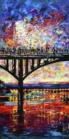 Austin Congress Avenue Bridge Fine Art Print