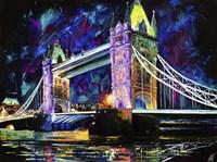 London Tower Bridge at Night Fine Art Print