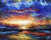 Majestic Sunset Fine Art Print