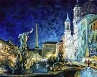 Piazza Navona Fine Art Print