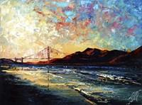 San Francisco Golden Gate Bridge Fine Art Print
