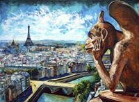 View from Notre Dame Fine Art Print