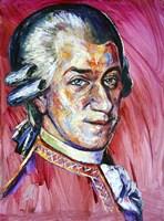Wolfgang Amadeus Mozart Fine Art Print
