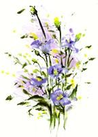 Purple Blooming Fine Art Print