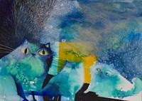 Persian Cats Fine Art Print