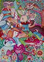 Alice in Wonderland Fine Art Print